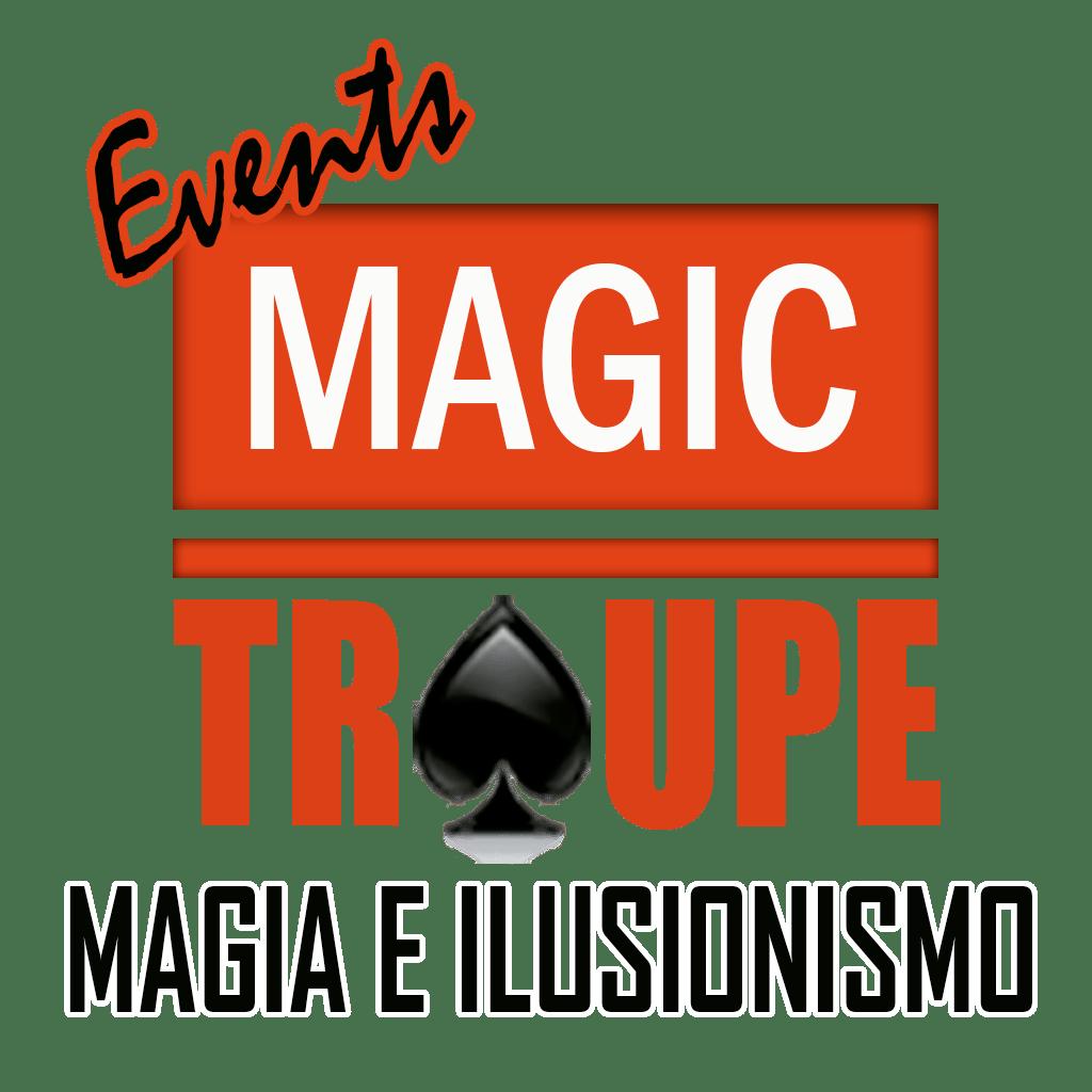 logo magic troupe events magos para eventos